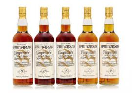 Springbank 25-35 Year Old Millennium collection