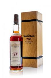 Macallan 1971 30 Year Old Fine & Rare #7556