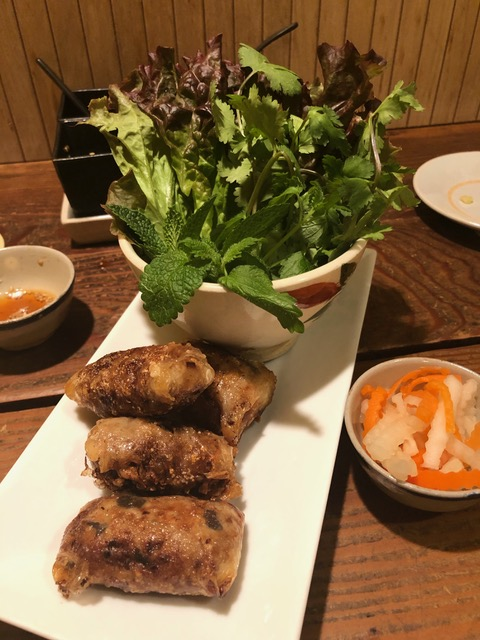 Vietnamese restaurant 'Kitchen' キッチン at Azabu